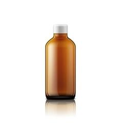 Isolated medicine bottle on white background vector