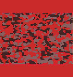 Military camouflage pattern abstract brushstrokes vector