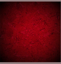 Red texture with black vignette border vector