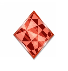 Suit of Diamonds Icon vector