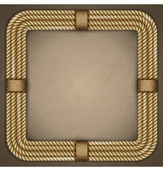 Frame the old paper background vector image
