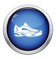 Tennis sneaker icon vector image