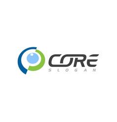 C letter core icon vector