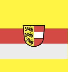 carinthia austria flag vector image
