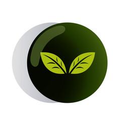 Design logo green for corporate company vector
