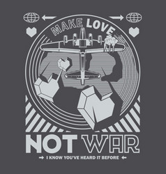 not war vector image