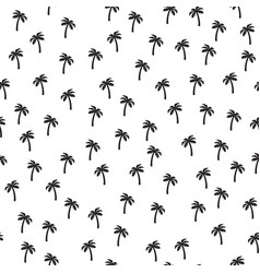 Palm tree pattern seamless texture vector