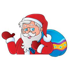 Santa claus thematic image 6 vector