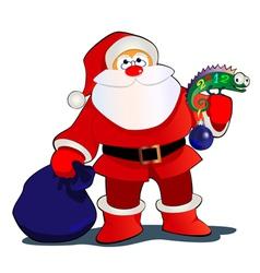 Santa2012 vector