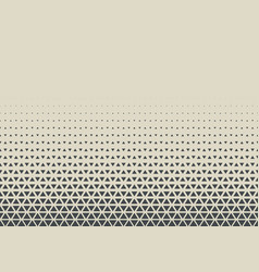 2d geometric two colors triangle halftone pattern vector