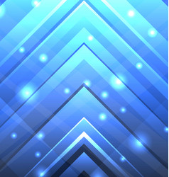 abstract techno background with transparent arrows vector image