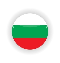 Bulgaria icon circle vector