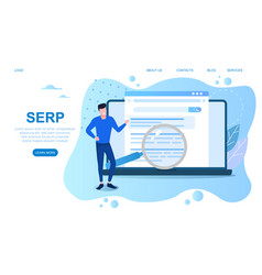 Concept search engine result page vector