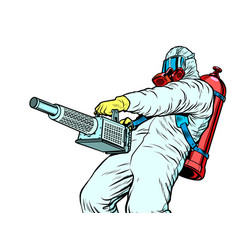 Disinfection suit protection epidemic virus vector