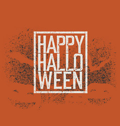 halloween abstract logo halloween party vector image