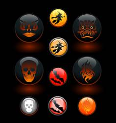 Icon-o-lanterns vector