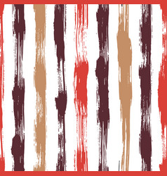 seamless pattern with brush stripes and vector image