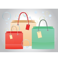 Shopping Bag Design4 vector image