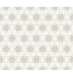 Antique Star Pattern Seamless Background vector image