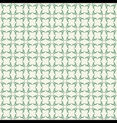 classic green design pattern background vector image vector image