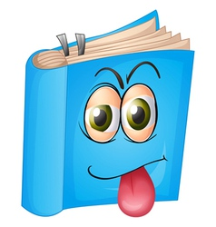 Cartoon Book vector image
