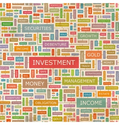 Investment vector