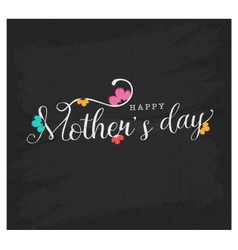 Mothers Day Design Element for Greeting Cards vector