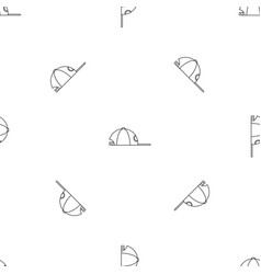 rap cap pattern seamless vector image