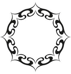 sun tattoo vector image