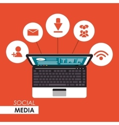 Worktime social media design vector