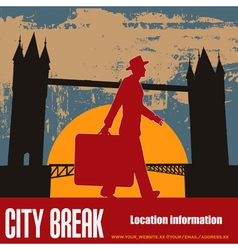 london break vector image vector image
