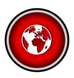 icon world vector image vector image