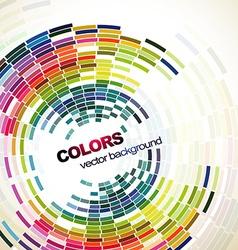abstract mosaic design vector image