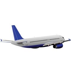 Airplane Model vector image