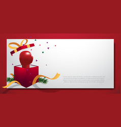 Boxing day background frame blank template vector