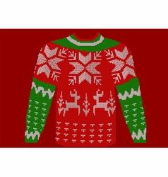 Christmas jumper vector