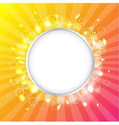 Color Design Template vector image