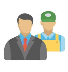 Company employees vector