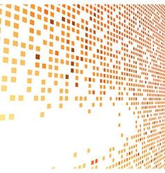 Orange bright tiles empty background vector
