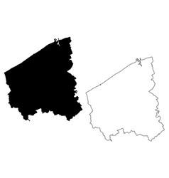 West flanders province kingdom belgium vector