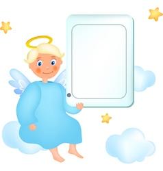 Cloud angel vector