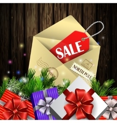 Boxing day background vector
