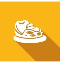 Bumper car icon vector image