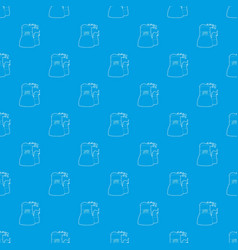 Cooling tower pattern seamless blue vector