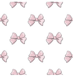 cute seamless pattern with beautiful hand drawn vector image
