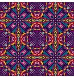 Ethnic intricate seamless tribal pattern vector