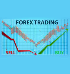 Forex finance stock market trading investments vector