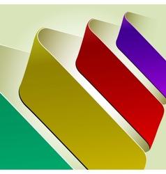 Index arrow vector image