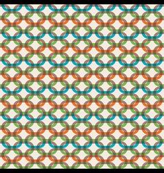 link design pattern vector image