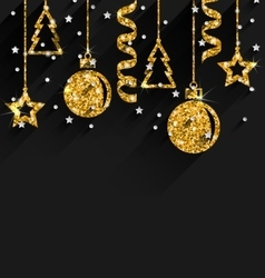 Merry christmas beautiful card vector